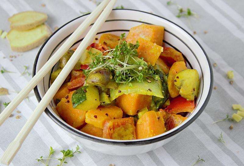 Indische Rezepte: vegetarische Gerichte mit Curry