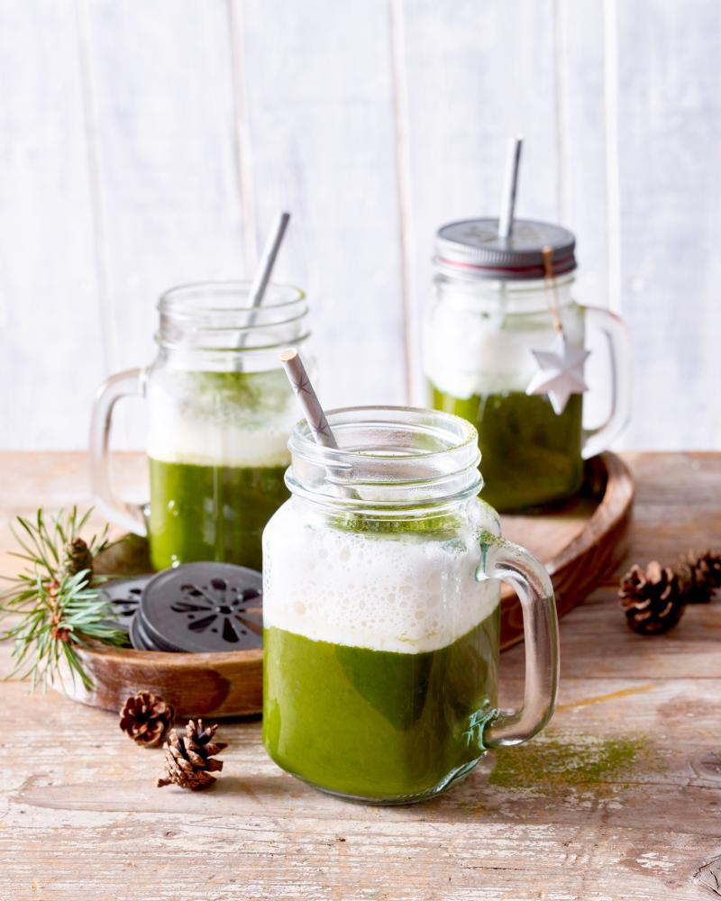 Rezeptidee von Emcur: Winter-Matcha-Orange