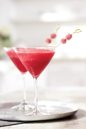 CRANBERRY-LIMETTEN-COCKTAIL
