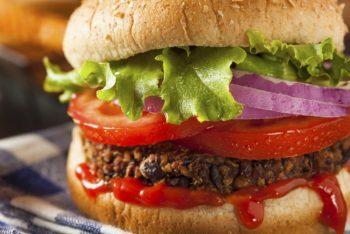 Veggieburger vorm PC: Gesunde Snacks nach Feierabend